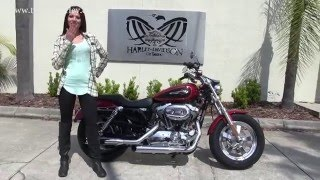 9. 2012 Harley Davidson Sportster 1200 Custom as seen on Ebay