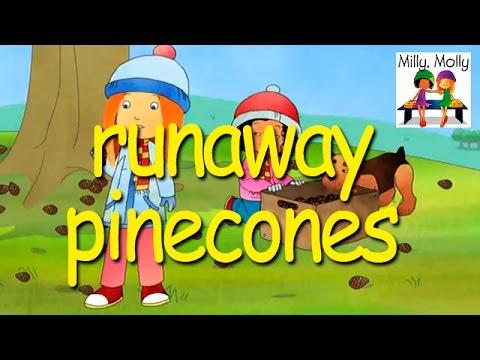 Milly Molly | Runaway Pinecones | S2E12