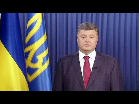 AIRLINER - Ukrainian President Petro Poroshenko said that the