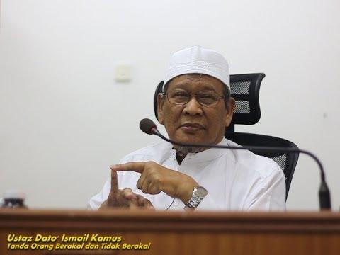 Ustaz Dato' Ismail Kamus | Tanda Org Berakal dan Tidak Berakal