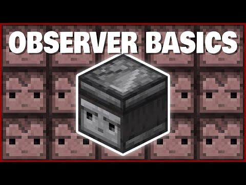 Minecraft Observer Basics | How to Use Observers!