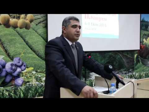 Doğu Karadeniz 2'inci Organik Tarım Kongresi Pazar'da
