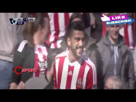 Southampton vs Newcastle 3   1 All Goals &  Highlights Premier League 09 04 2016