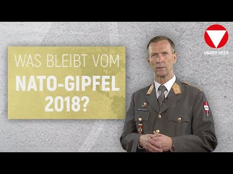 Феичтингер компакт: Вас блеибт вом НАТО-Гипфел 2018