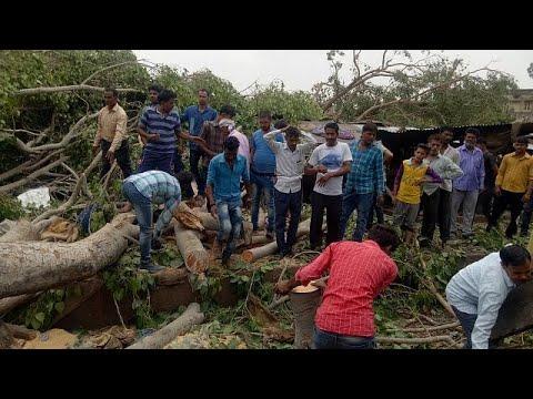 Ινδία: «Εκατόμβη» θυμάτων από αμμοθύελλα
