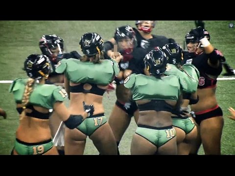 'Lingerie Football' Fight Breaks Out | Fake Or Real?