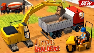 Video Little Builders - Video for Kids : Trucks, Cranes, Digger | New Fun Construction Games for Children MP3, 3GP, MP4, WEBM, AVI, FLV Juli 2017