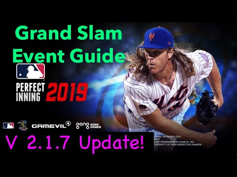 MLB PERFECT INNING 2019 - GRAND SLAM EVENT GUIDE - V 2.1.7 UPDATE! New Franchise Players Added!