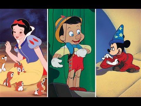 113. adás: A Disney rajzfilmek #1 (Hófehérke, Pinokkió, Fantázia, Dumbo, Bambi)
