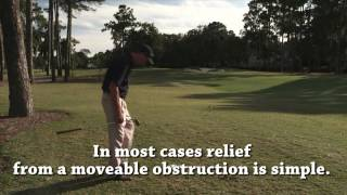 USGA video «Rules of Golf explained». Topic: Nearest Point of Relief Source: https://vimeo.com/album/3284660/video/42152624 Web site: http://usga-rules.com/ ...