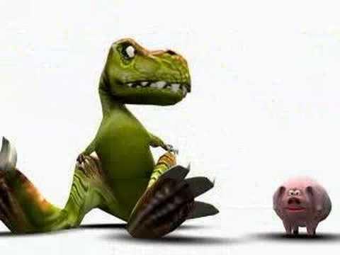 Funny Dinosaur Fart