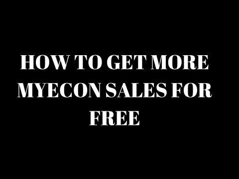 My Econ - How to get more sales and signups for free