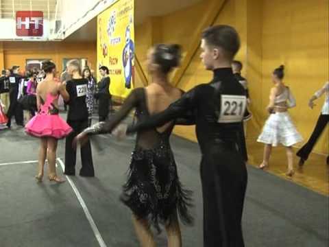 Центральная спортивная Арена Великого Новгорода стала местом спортивных танцевальных баталий