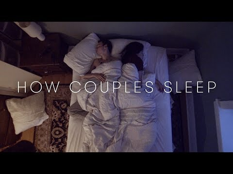 How Couples Sleep Together | Cut