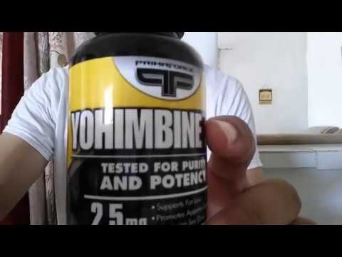 PRIMAFORCE Yohimbine HCL 2.5mg Fat Loss Supplement