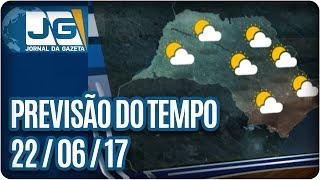Hoje tivemos um dia típico de inverno com sol e temperaturas agradáveis. Nesse momento, os termômetros marcam 22°C aqui na capital paulista. Vamos ver como f...