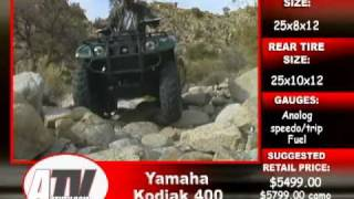 10. ATV Television - 2003 Yamaha Kodiak 400 Test