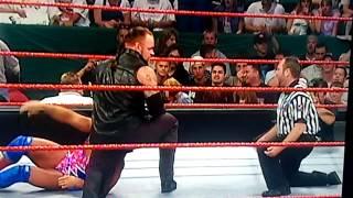 The undertaker duplexes Kurt angle