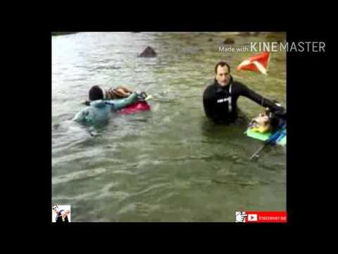 Pesca sub em Salvador Bahia /Farol da barra/ Melhores momentos