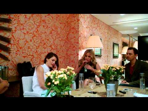 Keri Russell, Jennifer Coolidge and JJ Feild Talk Austenland
