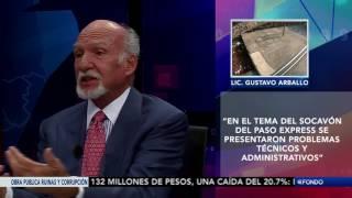 """A Fondo con, Julieta Mendoza: """"Obra pública ineficiencia y corrupción"""""""