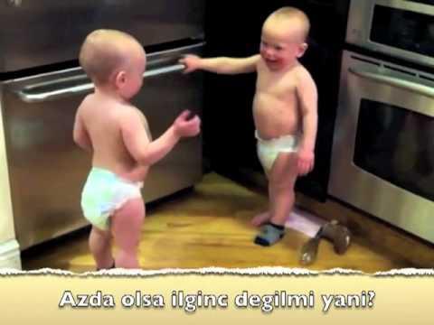 ikiz bebeklerin konusmasi
