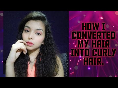 How to get curly hair without heat/Drisha