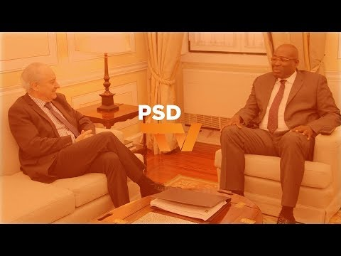 Presidente do PSD recebeu líder do MLSTP/PSD