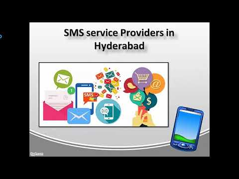 Watch 'Bulk SMS in Hyderabad, SMS service Providers  in  Hyderabad'