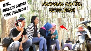 Video SUMPAH NGAKAK!! NGOMONG HAL KONYOL DI TELEPON Prank Indonesia MP3, 3GP, MP4, WEBM, AVI, FLV Januari 2019