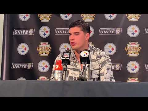Steelers QB Mason Rudolph on Confidence as Starter   Seattle   Steelers Now