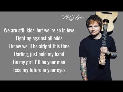 Perfect - Ed Sheeran ( Lyrics )