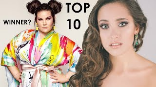Video Eurovision 2018 - TOP 10 countries most likely TO WIN MP3, 3GP, MP4, WEBM, AVI, FLV Juni 2018