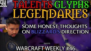 We're inching ever closer to Patch 7.2.5 and the launch of the Tomb of Sargeras! I decided to mostly forgo this week's spattering of news and talk about Bliz...