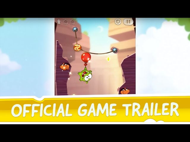 Cut the Rope 2 Official Game Trailer - Exclusively on the App Store