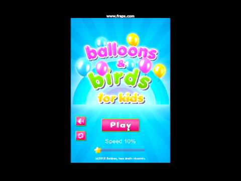 Video of Balloons & Birds (no Ads)