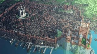 Minecraft Game of Thrones Kings Landing City! Hope you guys enjoy the amazing map from The Game of Thrones! You can...