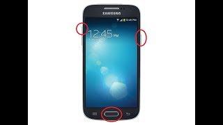 Como Quitar Código De Patrón, Restaurar, Hard Reset Samsung s4 Mini GT-l9195L