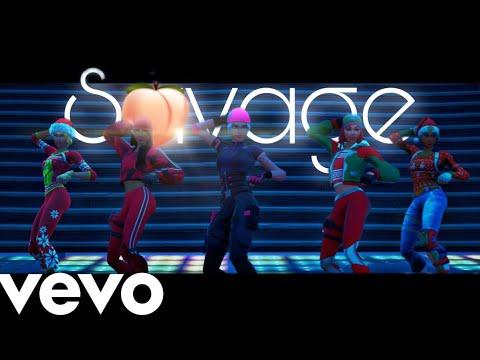 "Megan Thee Stallion - Savage (Official Fortnite Music Video) | Tik Tok Dance | ""I'm A Savage"""
