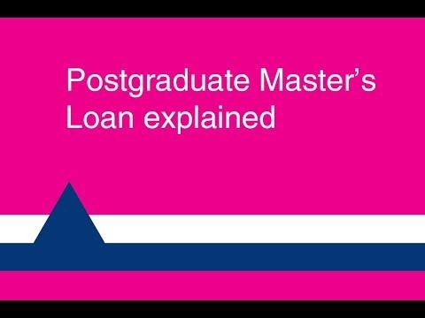 Postgraduate Master's Loan explained 2018/19