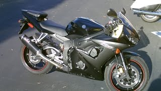 10. Contra Costa Powersports-Used 2005 Yamaha YZF-R6 middleweight supersport motorcycle