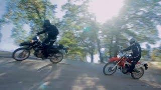 9. Dual-Sports: Honda CRF250L vs Suzuki DR-Z400 -- /RideApart