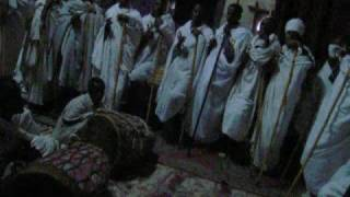 Ethiopia: Lalibela Christian Church Service
