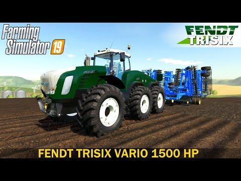 FS19 Fendt Trisix v2.0.0.0
