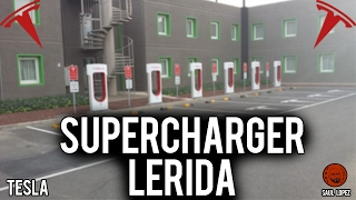 Supercharger Tesla en Lleida/Lérida