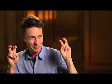 "Birdman: Edward Norton ""Mike Shiner"" Behind the Scenes Movie Interview"
