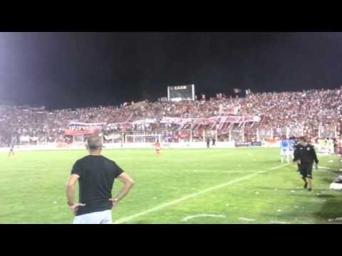 Fiesta en ciudadela y los jugadores de atletico tucuman mirando! Clasico de verano 2014 - La Banda del Camion - San Martín de Tucumán