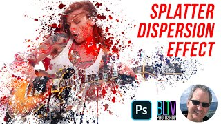 Photoshop Tutorial: How to Create a Dispersion, Splatter Effect!