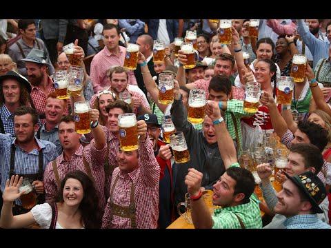 """""""It's tapped!"""": Octoberfest kicks off in Munich"""