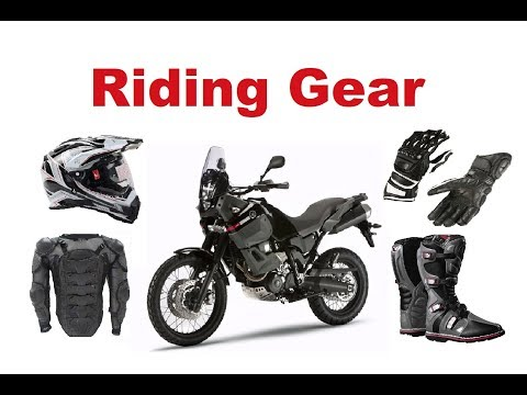 Motorcycle Riding Gear - Do I really need it?